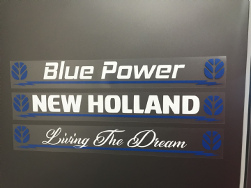 New Holland Two Colour Decal